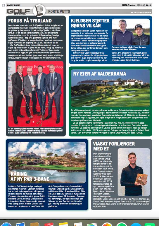GolfAvisen Magazine - February 2018
